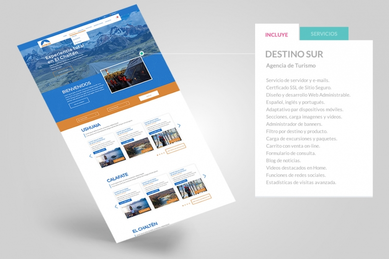 Agencia de Turismo Destino Sur