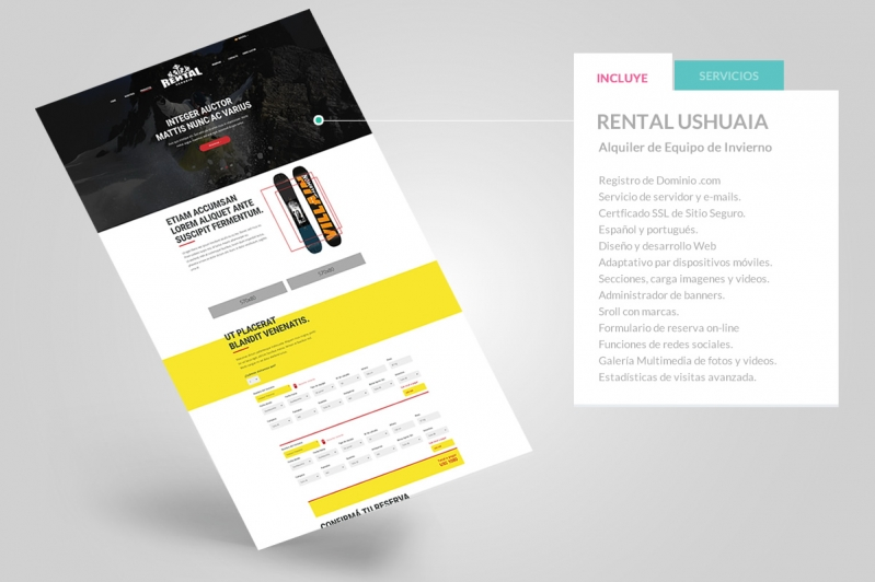 Rental Ushuaia